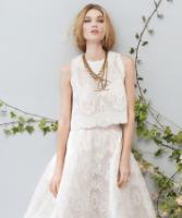 فستان الفرح من قطعتين لإطلالة متميزة