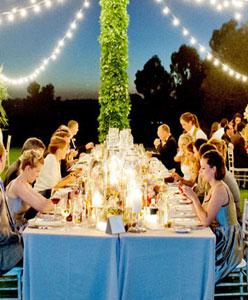 كيفية جلوس المدعوين في حفل الزفاف